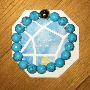 NWT Gorjana Turquoise power gemstones